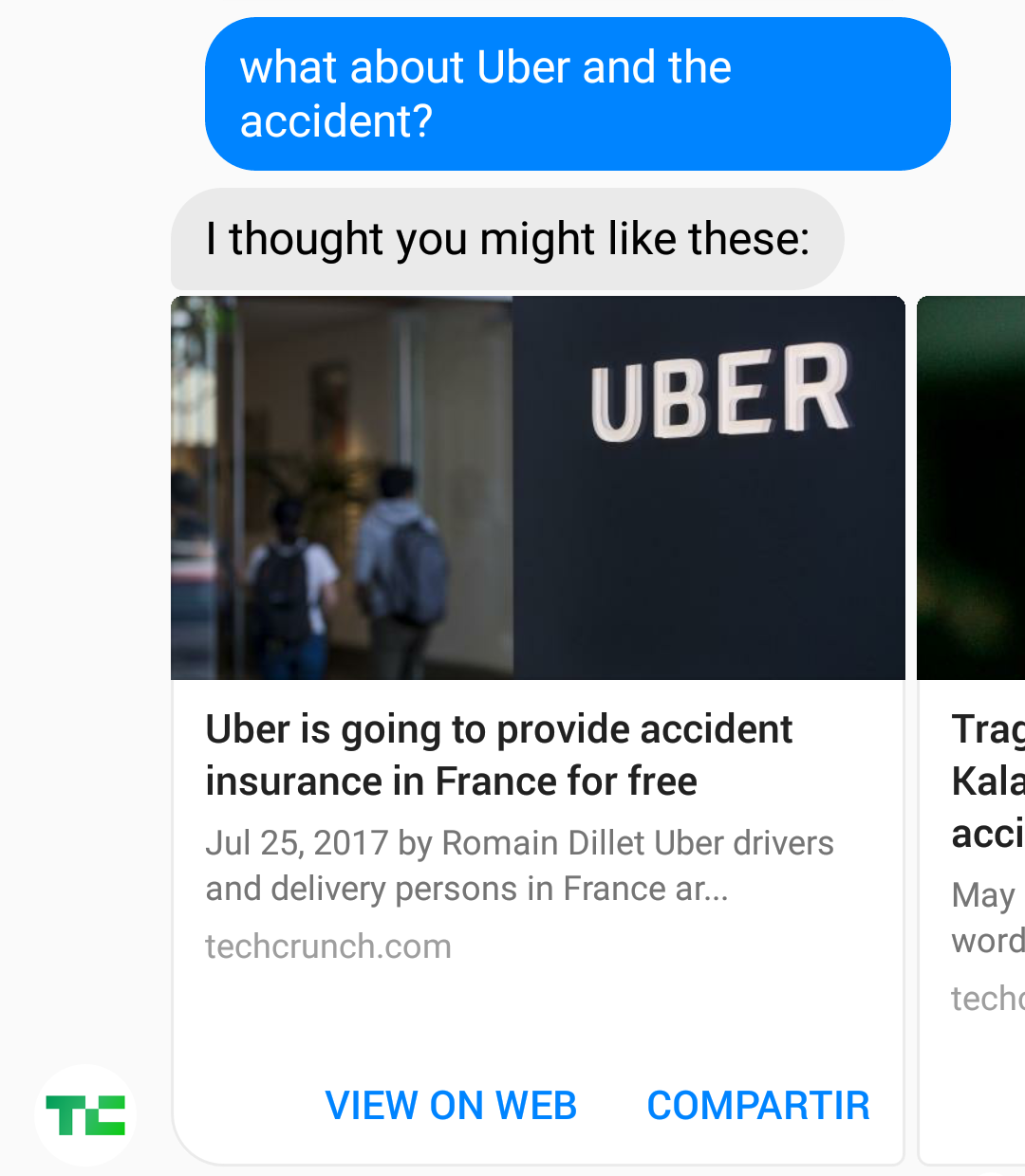 what about Uber and the accident?