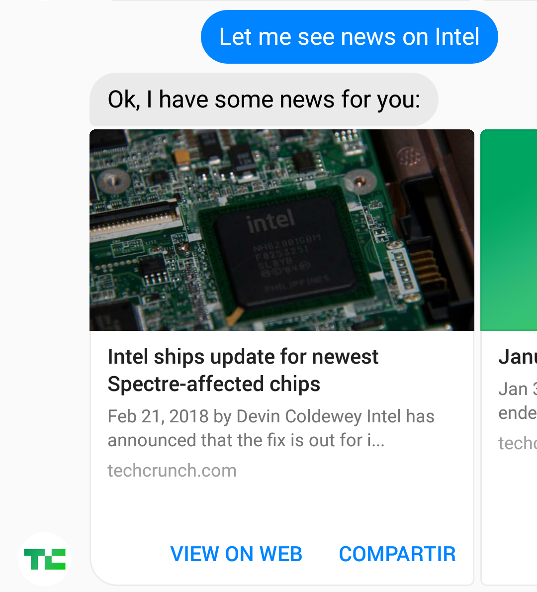 Let me see news on Intel