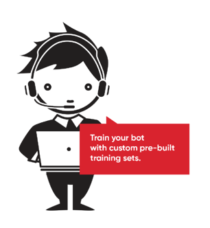 Artificial Training Data for Chatbots