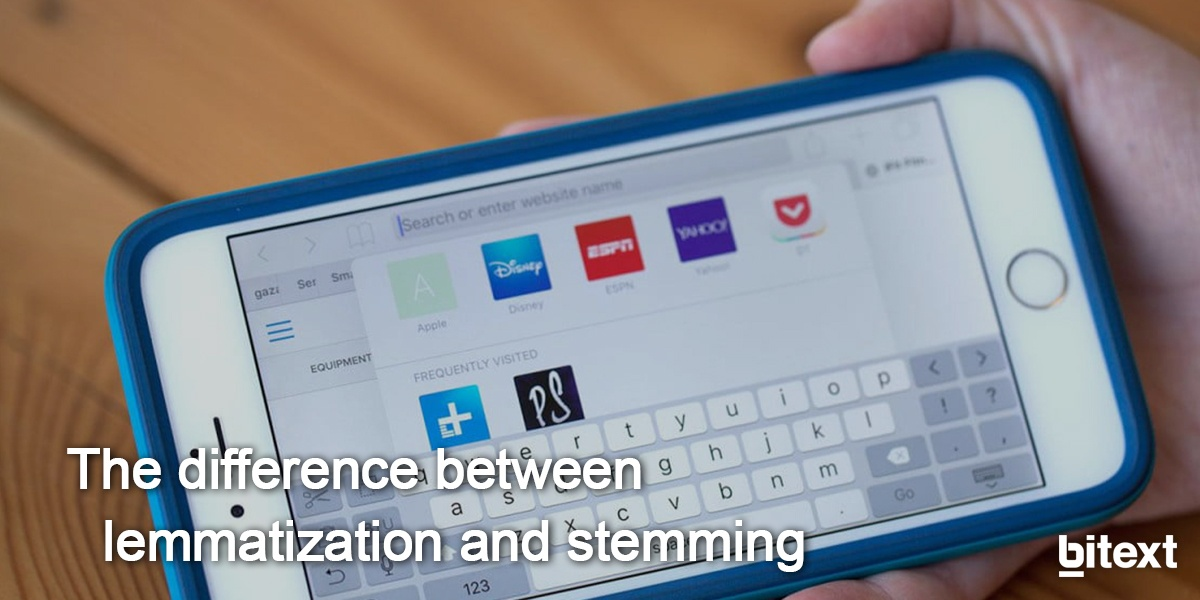 What is the difference between stemming and lemmatization?
